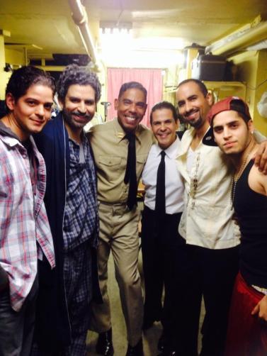 """Cast of"""" BARCELO CON HIELO"""""""