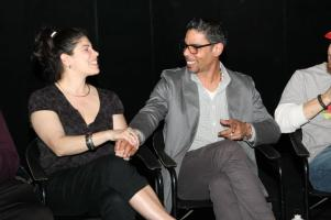 one festival panel 2013 with veronica caicedo